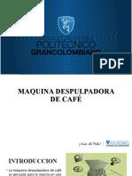 MAQUINA DESPULPDORA DE CAFÉ formato poli