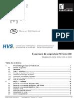 EUROTHERM - Régulateurs de température PID série 3200 - 3216 - 3208 - 32h8 - 3204