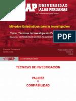TÉCNICA DE LITIGACION Y VALIDEZ