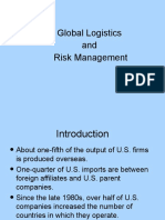 GU 13 Global Logistics Risk Management