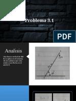 Problema 3.1 (1) mecanica