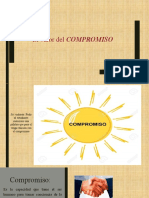 valor COMPROMISO