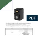 LX-16A data sheet