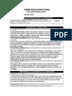 1 Aporte Del Informe Psicologico Final Ronald Andres Gandara Lozano