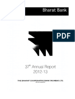 Bharat Co-Operative Bank Annual Report