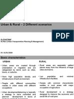 urban & rural_lecture 3