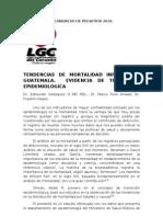 Tendencias de Mortalidad Infantil en Guatemala 2010
