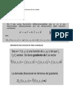 Derivada direccional para una función de tres variables.docx
