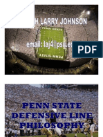 Penn State DL Philosophy
