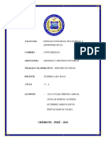 trabajo colaborativo II Unidad Sistema y Metodos contables