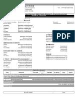 Reporte informe contrato