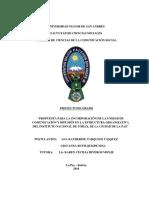 ESTRUCTURA ORGANIZATIVA PROYECTO DE GRADO