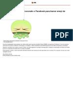 Governo Temer teria procurado o Facebook para barrar emoji de vômito - NE10