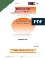 Guía de práctica 5 proteinas