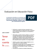 Evaluación en  evaluacion Didactica y curriculum PP