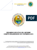 RE INFORME XXV COPIMERA 2015 2
