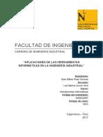Aplicación de las herramientas informaticas en la ingeniería industrial