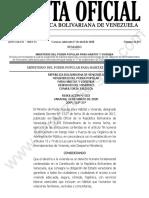 Gaceta-Oficial-41852-Sumario y Resolución de MINHVI