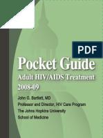 2008 Pocket Hiv Guide Hopkins