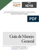 Manual Manejo IC10-DXD Liquidos