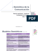 Teoría de la Comunicación - Escuela Semiótica