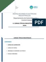 4. Cargas típicas industriales