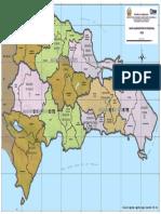 Mapa Administrativo Regional 2016 (Macroregion)