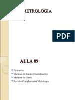 AULA 09 - METROLOGIA