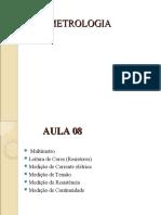 AULA 08 - METROLOGIA