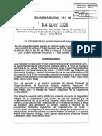 RESOLUCIÓN 064 DEL 14 DE MAYO DE 2020