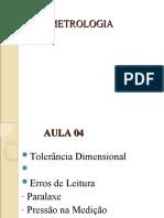 AULA 03 - METROLOGIA