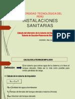 Calculo del diamtero de tuberia de impulsión-succión -potencia (1)