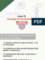Mecanica dos fluidos - Quantidade de movimento - Defletores.odp