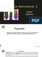 Tema 6 - Deflexiones