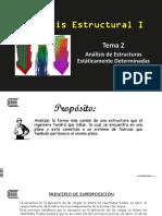 Tema 2 - Análisis de Estructuras Estáticamente Determinadas