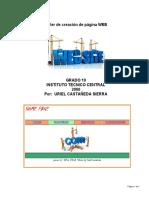 Taller para creación de la página web BASICA