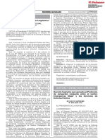 Decreto Supremo N° 008-2020-JUS