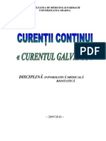 Curentul Galvanic