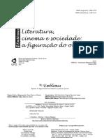 Literatura, cinema e sociedade - a figuração do outro