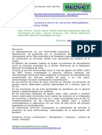 hallazgo de atoxoplasma sereni en cannarios.pdf