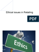 Presentation Ethical Issues in Retailing