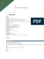 Polinomio de Taylor ejercicio Matlab