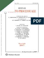 Rivista Di Diritto Processuale 02-2017