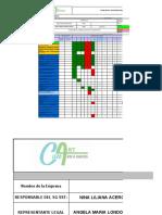 CRONOGRAMA DE  CAPACITACIONES 2020