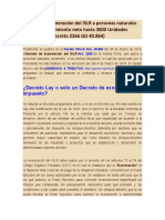 Decreto de exoneración del ISLR a personas naturales sobre enriquecimiento neto hasta 3000 Unidades Tributarias.docx