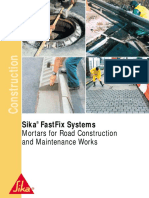 Sikafast fix system for roads and pavings