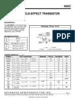 rca-40822 - dual mosfet -datasheet