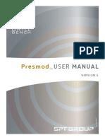 Presmod User guide