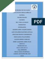Casos clinicos de luxacion y Fracturas de codo