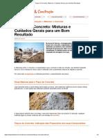 Traços do Concreto_ Misturas e Cuidados Gerais para um Bom Resultado.pdf